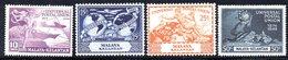 APR1215 - MALAYSIA 1949 , Serie  123/128 UPU  ***  MNH  KELANTAN - Kelantan