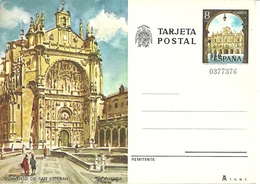 Tarjeta Postal, Salamanca (Castiglia Y Leon, Spagna) Convento De San Esteban - Salamanca