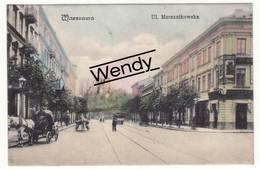 Warszawa (Ul. Marszalkowska - Color  - 1906) - Pologne