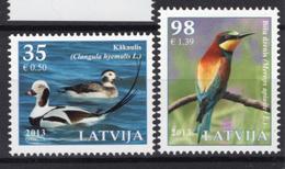 2013 - LETTONIA  - Mi.  Nr. 864/865 - NH - (UP131.55) - Lettonia