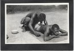 CPA Centrafrique Oubangui Chari Type Ethnic Sorcier Médecin Non Circulé - Central African Republic