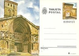 Tarjeta Postal, Logrono (La Rioja, Spagna) Iglesia De San Bartolome - La Rioja (Logrono)