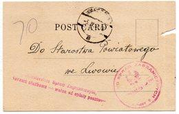 Poland Consular Mail New York Warszawa Lwow 1933 - 1919-1939 Republik
