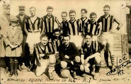 SPORT - Carte Postale - Football - Equipe Première Du 144 RI  -  L 30006 - Fútbol