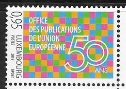 LUXEMBOURG, 2019, MNH, EUROPEAN UNION, EU PUBLICATIONS OFFICE,1v - EU-Organe