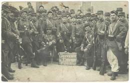 Cpa Carte-photo Soldats, Souvenir D'Epernay 1er Juin 1911 ( Révolte Vignerons En Champagne )(dans L'état) - Epernay