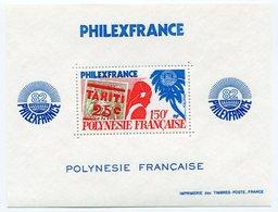 RC 12748 POLYNÉSIE BF N° 6 PHILEXFRANCE 82 EXPOSITION PHILATELIQUE BLOC FEUILLET COTE 21€ NEUF ** - Blocks & Sheetlets