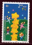 Bosnie En Herzegowina  Europa Cept 2000 Postfris M.N.H. - Europa-CEPT