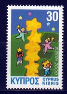 Cyprus  Europa Cept 2000 Postfris M.N.H. - Europa-CEPT