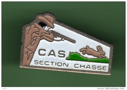 CHASSE *** CAS *** 1010 - Pin's
