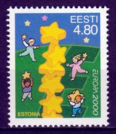 Estland Europa Cept 2000 Postfris M.N.H. - Europa-CEPT