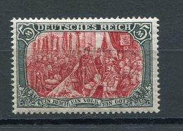 Deutsches Reich Mi Nr. 81A* - Katalogpreis 350 Euro - Neufs