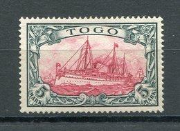 Kolonie Togo Mi Nr. 19 ** - Katalogpreis 620 Euro - Colonie: Togo