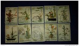 Japon 2012 5767 5776 Flore Composition Florale 550° Annivervaire De L'Ikebana - 1989-... Empereur Akihito (Ere Heisei)