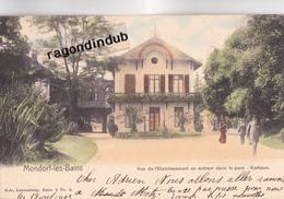 CPA - LUXEMBOURG - MONDORF-les-BAINS - Vue De L'établissement En Entrant Dans Le Pars - NELS N° 3 Sérrie 3 - EN COULEUR - Mondorf-les-Bains
