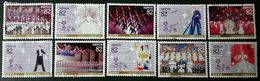 Japon 2014 6504 6513 Centenaire Revue Taka Razula Danse Traditionnelle Boléro Photo Non Contractuelle - 1989-... Empereur Akihito (Ere Heisei)