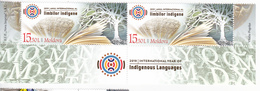"2019 , Moldova  Moldavie   UN "" 2019 – International Year Of Indigenous Languages"", 2 V. ,  MNH - Moldova"