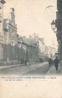CPA - Belgique - Brussels - Bruxelles - St-Josse-ten-Noode - Ecole Rue De La Limite - St-Joost-ten-Node - St-Josse-ten-Noode