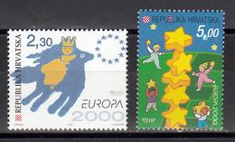 Kroatie  Europa Cept 2000 Postfris M.N.H. - Europa-CEPT