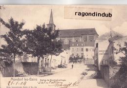 CPA - LUXEMBOURG - MONDORF-les-BAINS - EGLISE De MONDORF-VILLAGE - NELS N° 19 Sérrie 3 - - Mondorf-les-Bains