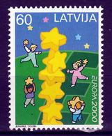 Letland  Europa Cept 2000 Postfris M.N.H. - Europa-CEPT