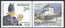 Zweden 1987 Jubileum Paar II PF-MNH - Neufs