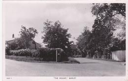"RP: BARLEY , N. Hertfordshire , England , 30-40s ; ""The Mount"" ; TUCK - Hertfordshire"
