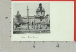 CARTOLINA NV ITALIA - ROMA ROME - Forum Trajan Foro Traiano - 9 X 14 - Roma (Rome)