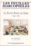 La Petite Poste De Paris 1760 - 1795 - Philately And Postal History