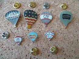 LOT  7  PIN'S  MONTGOLFIERE - Airships