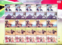 Indonesia - 2011 300 Years Historic Link Between Indonesia And South Africa Sheet (**) - Joint Issues
