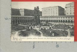 CARTOLINA NV ITALIA - ROMA - Chiostro E Giardino Nell'ex Convento Dei Frati Certosini Ora Museo Nazionale - 9 X 14 - Roma (Rome)