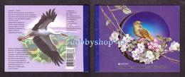 Ukraine 2019 Booklet EUROPA CEPT National Birds Of Ukraine Stork Nightingale 806 - Ukraine