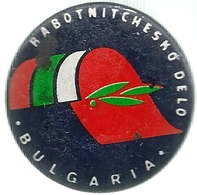 Bulgaria, Politica, Comunismo, Rabotnitchesko Delo, Cm. 4. - Pin's