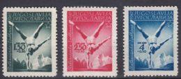 Yugoslavia Republic, Sport 1947 Mi#524-526 Mint Hinged - 1945-1992 Socialistische Federale Republiek Joegoslavië