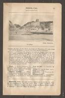 1924 MESNIL VAL SEINE Inf. (76) - CHEMIN DE FER ETAT 183 KM DE PARIS AU TREPORT PUIS SERVICE AUTOBUS - Chemin De Fer