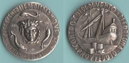 SICILIA Medaglia Banca Cassa Di Risparmio X 100°  Marcata  Jonshon - Italy
