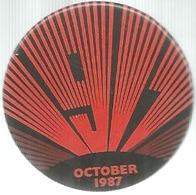 Russia, Politica, Comunismo, October 1917 - 1987, Cm. 4,1. - Pin's