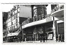 Paris Moulin Rouge Music-hall  Paris Cancan 1938 Cinema  Carte Photo Artiste Photo Amateur - Inns