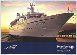 Schiff / Ship / Bateau / Astor(D-A259) - Dampfer