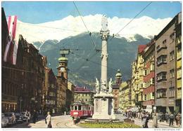 Strassenbahn / Tram / Trambahn / Rail / Railway / Tramway / U-Bahn / Subway / Metro:  Innsbruck (D-A260) - Tramways