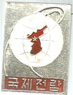 Corea Del Nord, Politica, Comunismo, Zenlam Pyongyang, Mist. Cm. 2,5 X 3,4. - Pin's