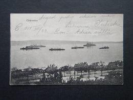 CROATIA - CIRKVENICA -BRODOVI - SHIPS - 1913 - NAKLADA KNIZARE - LIBURNIA - Croazia