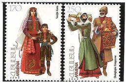 Armenia.1999 National Costumes II. 2v: 170, 250 Michel # 351-52 - Armenia