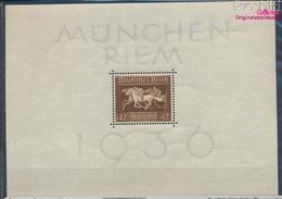 Deutsches Reich Block4 (kompl.Ausg.) Postfrisch 1936 Das Braune Band Pferderennen (8111918 - Deutschland