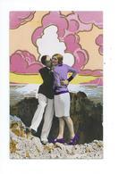 Couple D'amoureux En Bord De Mer 1931 - Paare