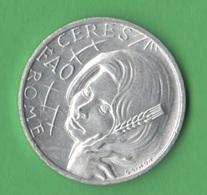 Gettone FAO Italia 1971 Sofia Loren Token Gettone Alluminio - Professionals/Firms