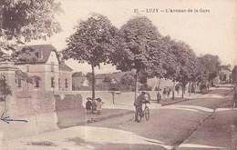 Nièvre - Luzy - L'avenue De La Gare - Otros Municipios