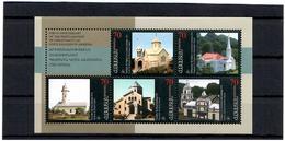 Armenia.1999 Christianity-1700 (Churches). S/S Of 5v X70+label. Michel # 363-67 - Armenia