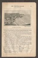 1924 LES PETITES DALLES SEINE Inf. (76) - CHEMIN DE FER ETAT 197 KM DE PARIS A CANY PAR ROUEN ET MOTTEVILLE - Chemin De Fer